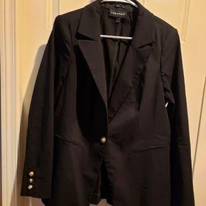 Black Lane Bryant blazer